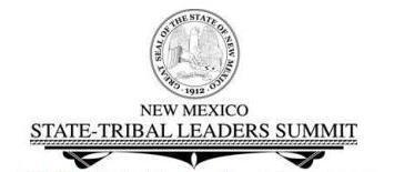 NM Tribal Leaders Summit logo